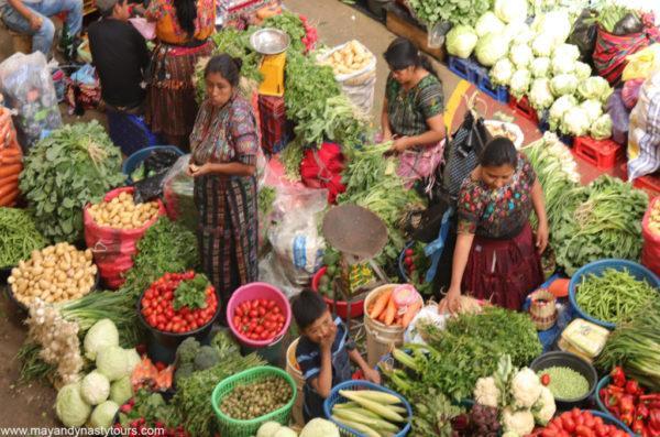 Sololá Colourful Market Day