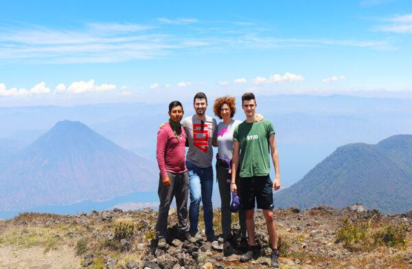 Overnight Atitlan Volcano